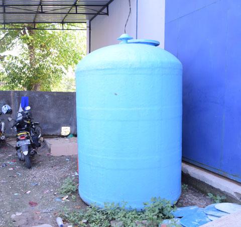 tangki air fiber