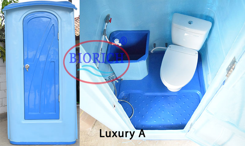 toilet portable luxury A