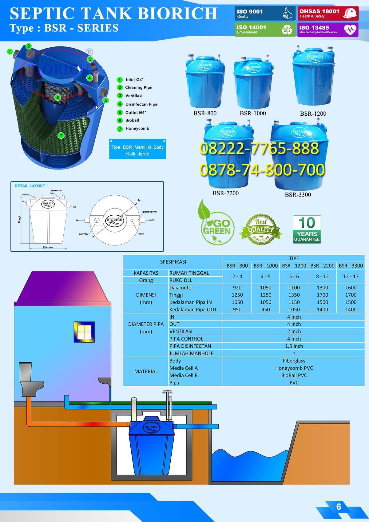 brosur septic tank bio